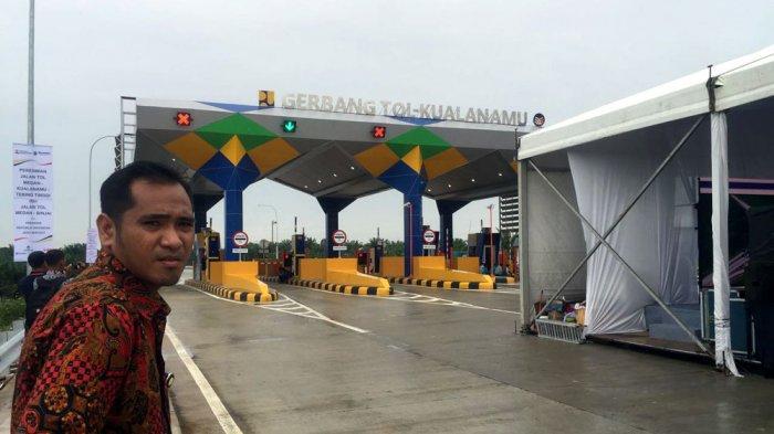 HORE! Setelah Diresmikan Jokowi, Jalan Tol Kualanamu-Tebingtinggi dan Medan-Binjai Digratiskan