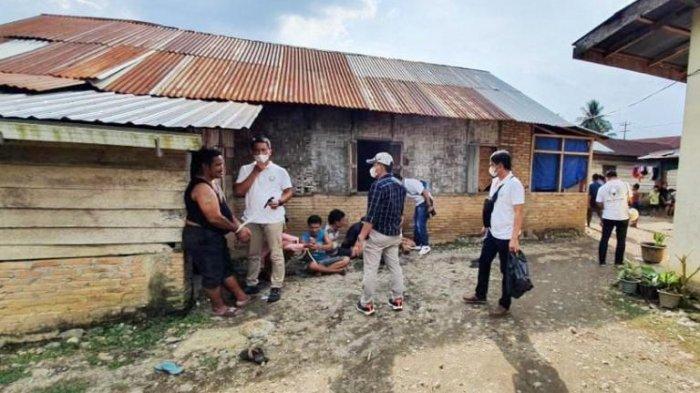 Polisi 'Obrak-abrik' Kampung Columbia, 12 Pengedar dan Pemakai Diringkus Meski Sempat Kabur