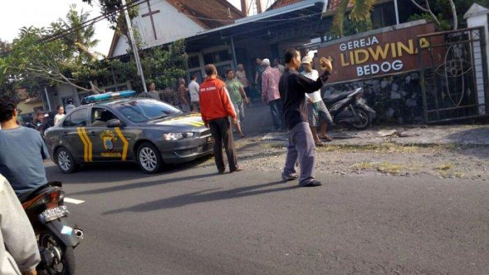 Polisi Tembak Pria Ngamuk di Gereja, 2 Peluru Menembus Kaki