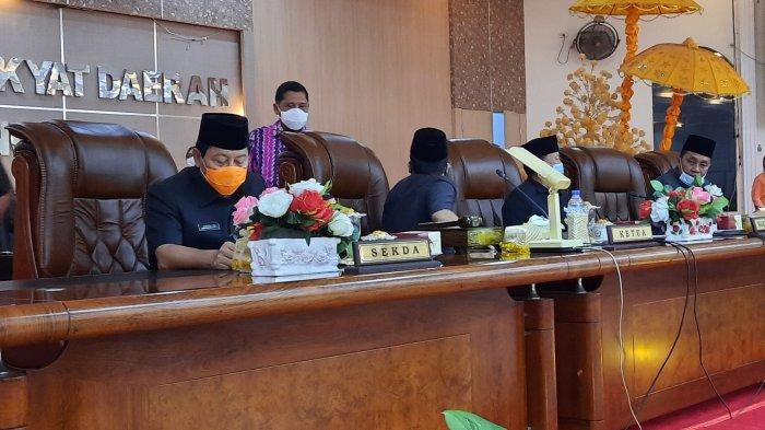 DPRD Langkat Gelar Rapat Paripurna, Paparkan Capaian Satu Tahun Terakhir