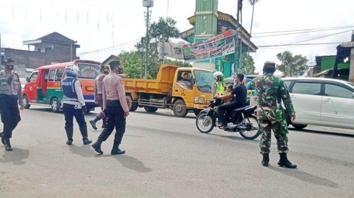 Antisipasi Penyebaran Covid-19, Petugas Kembali Lakukan Penyekatan di Jalur Masuk ke Kota Medan