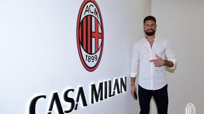 LIGA ITALIA - Gabung AC Milan, Begini Harapan Olivier Giroud Bakal Duet dengan Ibrahimovic