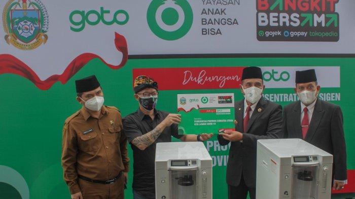 #BangkitBersama, GoTo Donasikan Lebih dari 1.000 Konsentrator Oksigen bagi Faskes di Indonesia
