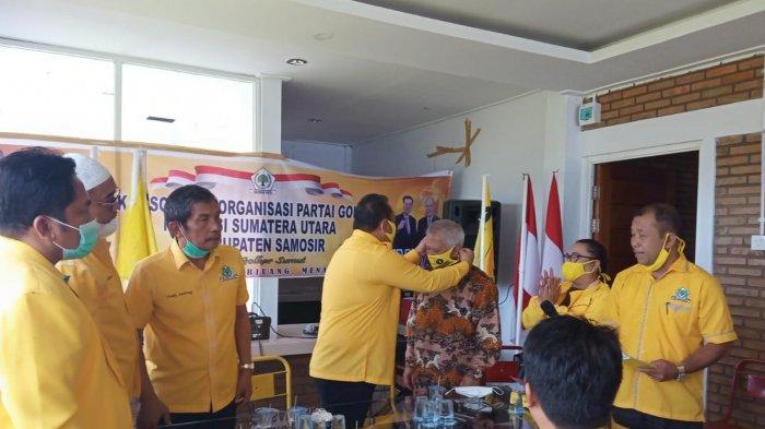 DPD Partai Golkar Sumut Konsolidasi di Samosir, Tegaskan Vantas Harus Menang