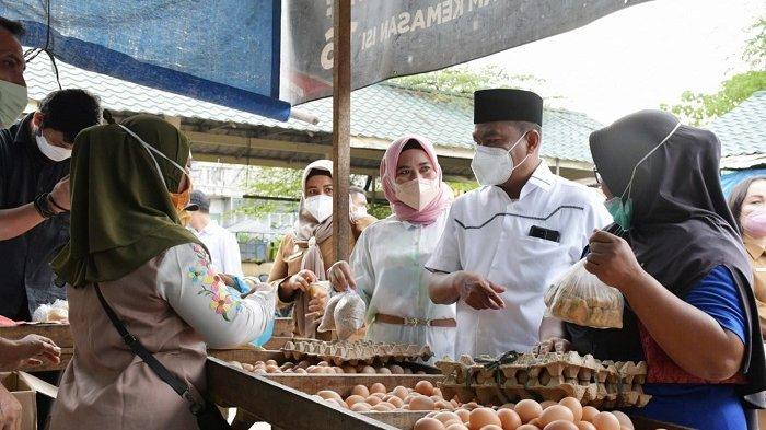 Seribuan Pegawai Pemkab Sergai Serentak Belanja di Pasar Tradisional untuk Grebek Dahsyat