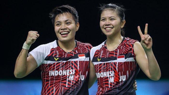 Hasil Final Thailand Open 2021 - Gelar Pertama 2021, Pasangan Greysia/Apriyani Juara Ganda Putri