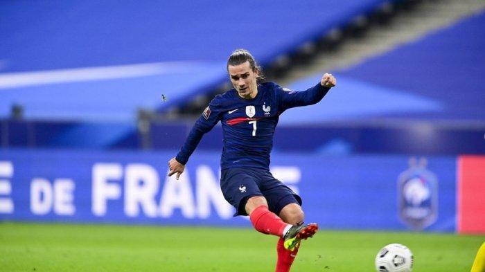 Hasil Prancis Vs Bosnia - Tambah Gol Sebiji, Griezmann Pemain Tersubur Ke-4 Timnas Perancis