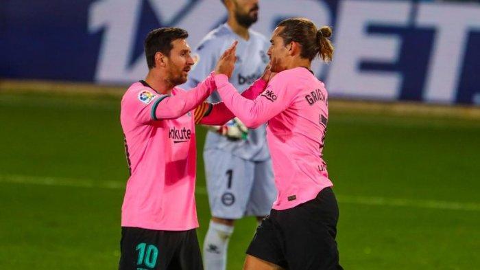 DEMI Lionel Messi Bertahan, Barcelona Pangkas Gaji Pemain 40 Persen, Griezman Bisa Kena Imbasnya
