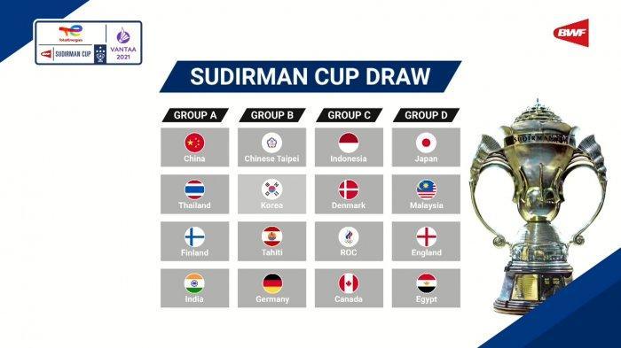 Tim Beregu Indonesia Masuk Grup Neraka di Piala Sudirman 2021, Penantian 30 Tahun Puasa Gelar