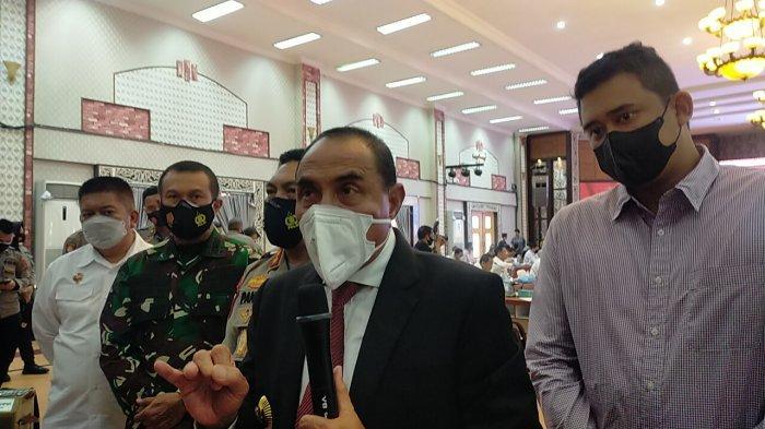 Kota Medan PPKM Darurat, Gebernur Edy Rahmayadi Ingatkan Bobby Nasution Soal Pembatasan Kegiatan
