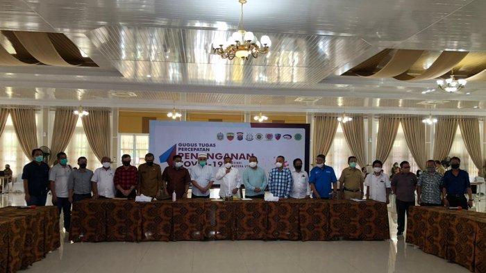 Gubernur Edy Rahmayadi Ajak Kerjasama Perusahaan Media, Gelar Silaturahmi dengan Para Pimpred