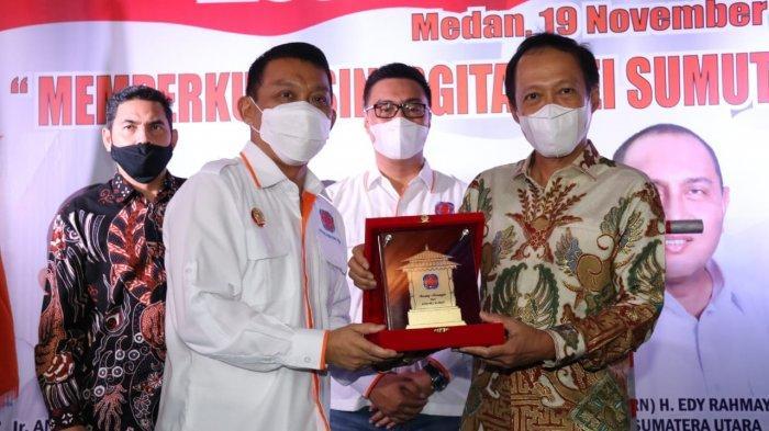 Gubernur Edy Harap Pemprov Sumut dan REI Bekerja Sama Realisasikan Hunian Bagi Masyarakat