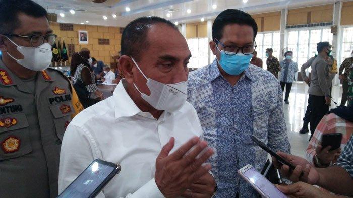 Rumah Wali Kota Tanjungbalai Digeledah KPK, Gubernur Edy Rahmayadi: Kalau Ada Asap, Pasti Ada Api