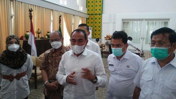 Gubernur Edy Rahmayadi Pastikan Fasilitas Rumah Sakit Rujukan Covid-19 di Sumut Masih Memadai
