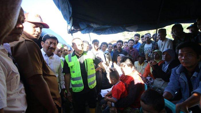 Gubernur Sumut Edy Rahmayadi Minta Petugas Temukan Korban Longsor Desa Halado Tobasa