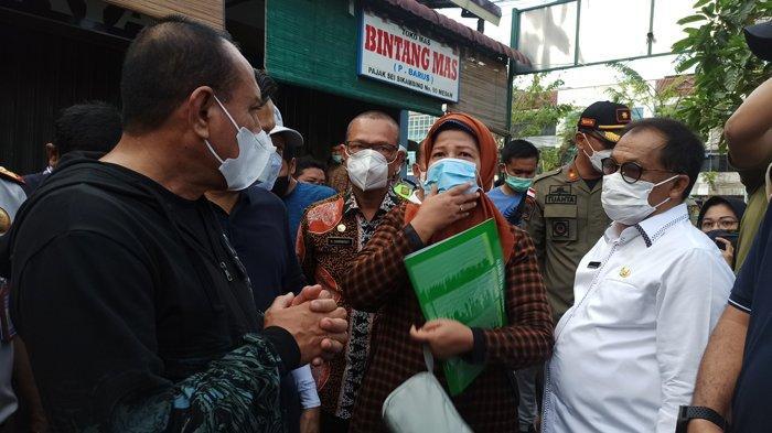 Jelang Ramadhan, Gubernur Edy Rahmayadi Sidak di Pasar Sei Sikambing Medan