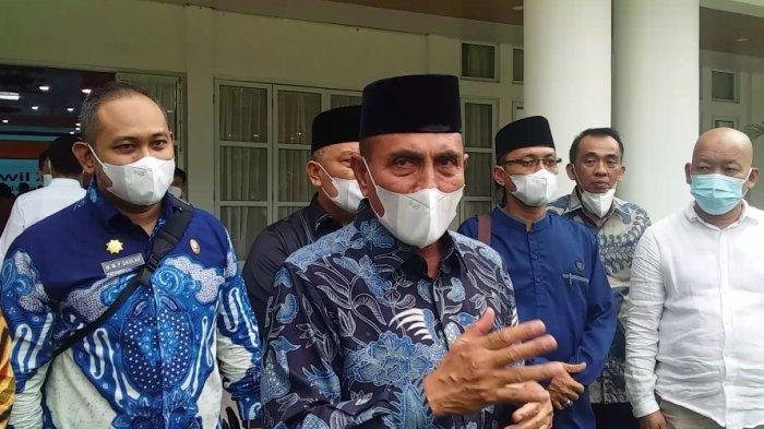 Edy Rahmayadi Izinkan Seluruh Kabupaten dan Kota di Sumut Berlakukan PTM Terbatas di Sekolah