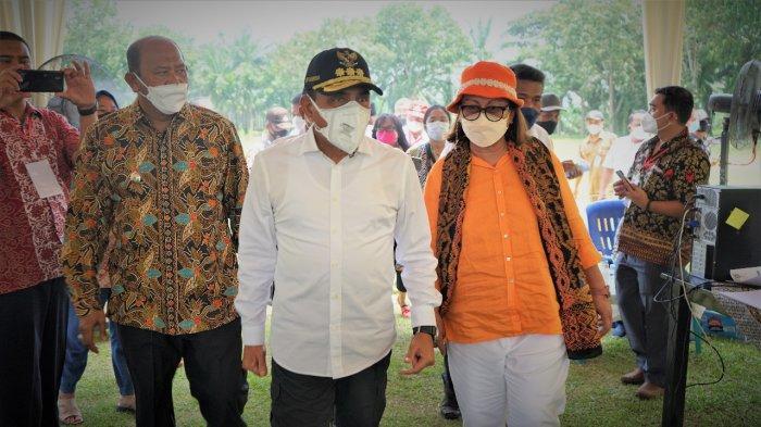 Gubernur Sumut Edy Rahmayadi Tinjau Vaksinasi Covid-19 di Kabupaten Langkat