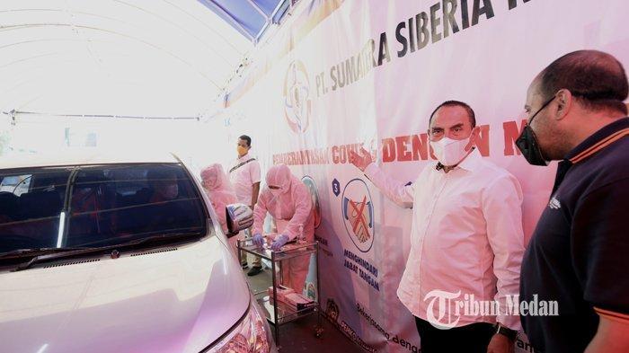 Merasa Kecolongan, Gubernur Edy Rahmayadi Minta Maaf Atas Adanya Swab Antigen Bekas di Kualanamu