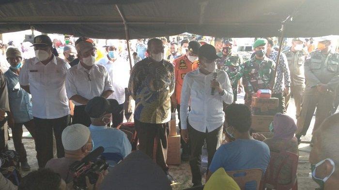 Bantu Korban Kebakaran Sei Bilah, Gubernur Sumut Edy Diapresiasi Pemkab Langkat