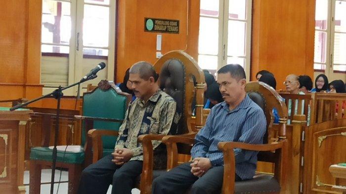 2 Terdakwa Penyuap Bupati Pakpak Bharat Divonis 2 Tahun Penjara
