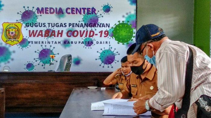 Lima Orang Pasien Diisolasi di Rumah Singgah Taman Wisata Iman (TWI) Sitinjo Dairi