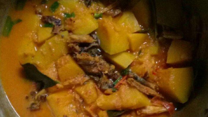 Resep Gulai Nurung Kerah, Makanan Khas Karo Terbuat Dari Lele Asap dan Labu