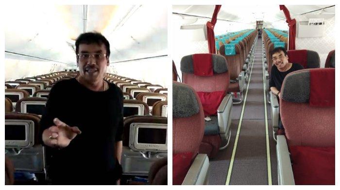 Penumpang Tunggal Garuda Indonesia yang Viral Ternyata Cucu Pahlawan dan Kakak Ketua FPI Palu