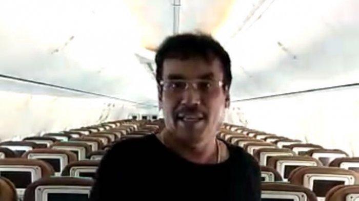 Viral, hanya Sendiri Tumpangi Maskapai Garuda Indonesia, Ternyata bukan Orang Sembarangan