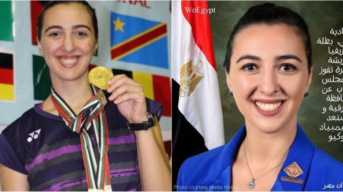 Hadia Hosny, Atlet Bulu Tangkis Sekaligus Anggota Parlemen Mesir, Siap Ancam Pamor Carolina Marin