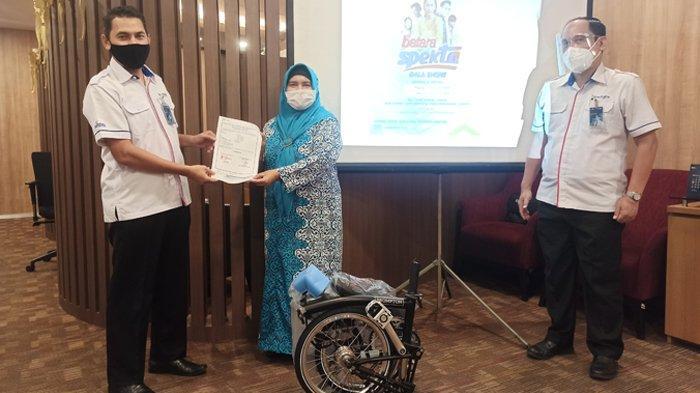 Grand Prize Batara Specta, BTN KC Medan Serahkan 3 Hadiah Kepada Nasabah Loyalitas