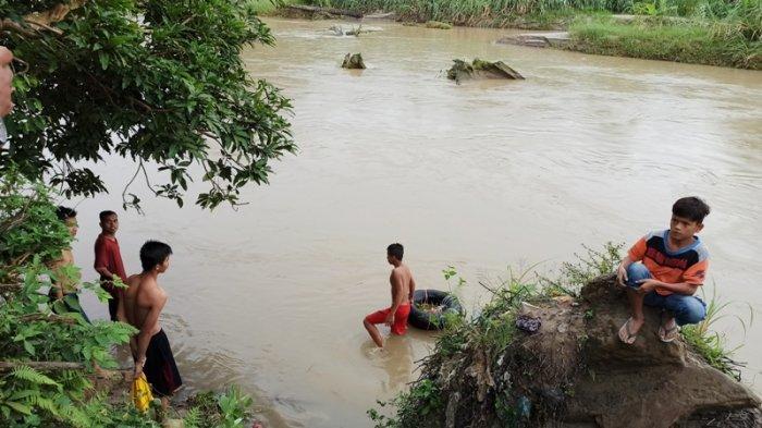 Penuturan Warga: Korban yang Hanyut di Sungai Sei Silau Sering Pingsan Bila Kelelahan