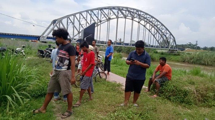Usai Asmara Subuh, Remaja SMP Bagas Efendy Sijabat Hanyut Tenggelam di Sungai Ular
