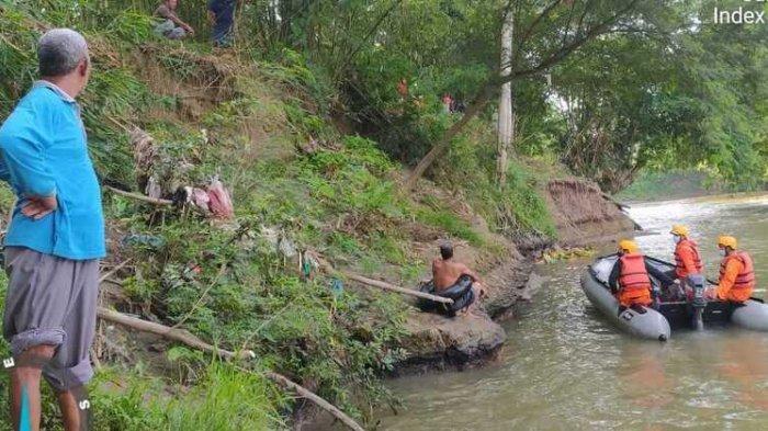 Zaki Hanyut di Sungai Belawan, Sempat Ditarik Teman Tapi Lepas Terbawa Arus