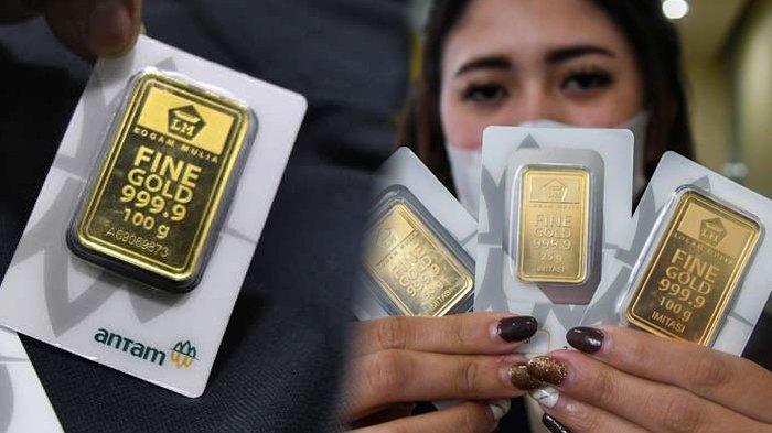 Harga Emas Antam Medan Hari Ini Anjlok, Butik Antam Emas Jual Rp 924 Ribu per Gram