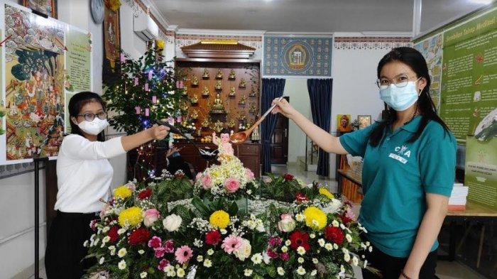 12 Tindakan Bajik Buddha yang Ditampilkan Di Pameran Perayaan Waisak di Mani House Medan