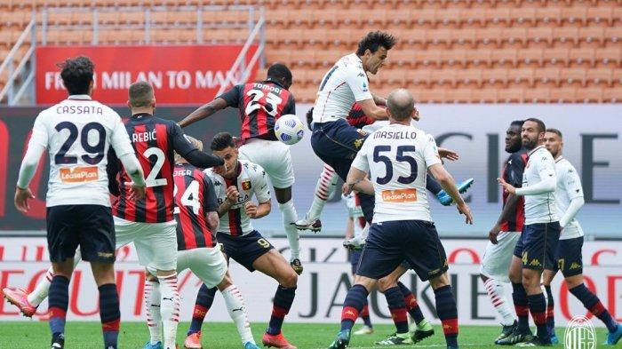 LINK Live Streaming AC Milan Vs Sassuolo Liga Italia, Head to Head, Prediksi Susunan Pemain