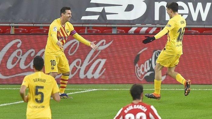 JELANG Final Piala Super Spanyol Barcelona Vs Bilbao ...
