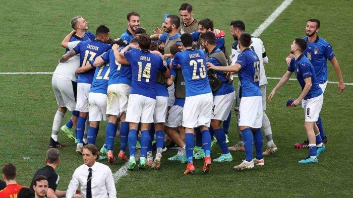 HASIL FINAL EURO Italia vs Inggris: Italia Juara Euro 2020, Menang Adu Penalti 3-2