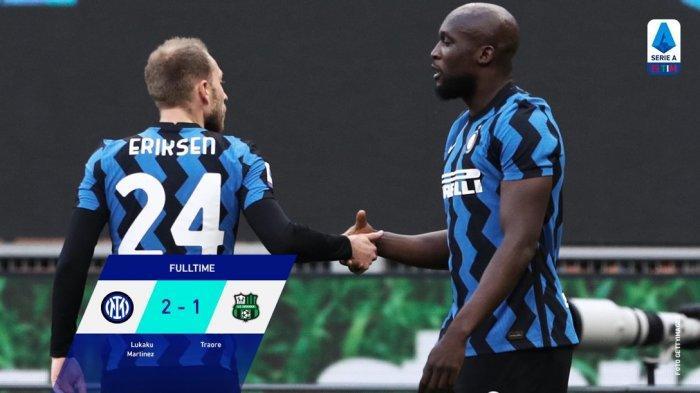 UPDATE Hasil Liga Italia - Inter Milan Diambang Juara Musim Ini, Selisih 11 Poin dari AC Milan