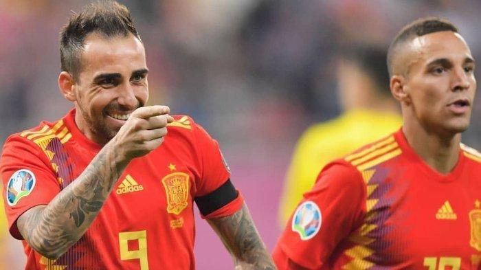JADWAL Tayang Siaran Grup E - Timnas Spanyol Belum Dapat Jatah Vaksin Jelang Euro 2020