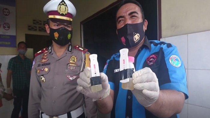 Dua Sopir Bus Lintas Positif Narkoba, Terjaring Operasi Lilin Toba di Asahan