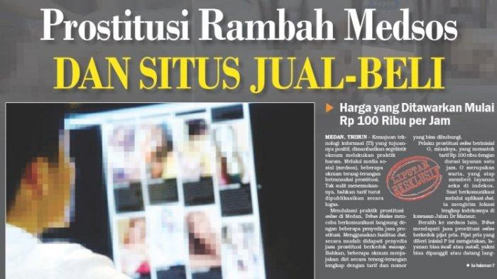 Prostitusi via Medsos dan Situs Jual-Beli di Medan, Tarif yang Ditawarkan Mulai Rp 100 Ribu per Jam