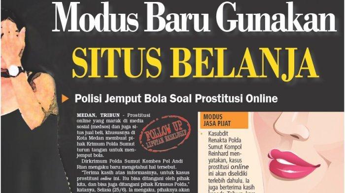 Modus Baru  Prostitusi Online Gunakan Situs Belanja, Polda Sumut akan Jemput Bola