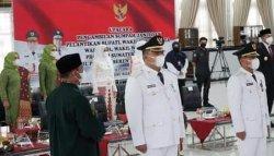Hendriyanto Sitorus dan Samsul Tanjung Resmi Menjabat Sebagai Bupati Labura, Ini Pesan dari Gubsu
