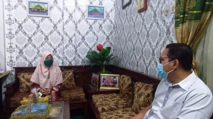 Anggota DPRD Sumut Datangi MTs Negeri Binjai Tanya Soal Siswa 'Siluman'