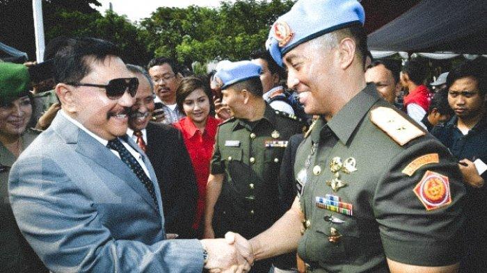 Jenderal TNI (Purn) AM Hendropriyono dan KASAD Jenderal TNI Andika