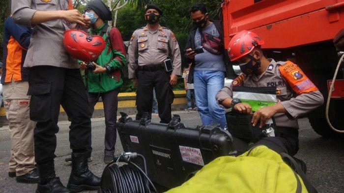 Cari Pengendara Land Cruiser Hilang di Sungai Lau Biang, Polda Pakai Kamera Bawah Air