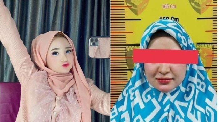 Biasanya Pipi Tirus, Begini Penampakan Wajah Barbie Aceh, Selebgram Herlin Kenza Pelanggar PPKM