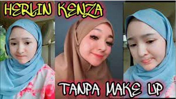 Foto Herlin Kenza yang diunggah di Instagramnya. Wanita berjuluk Barbie Aceh ini jadi sorotan saat foto aslinya di kantor polisi beredar luas.